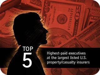Gallery: Highest paid insurer execs