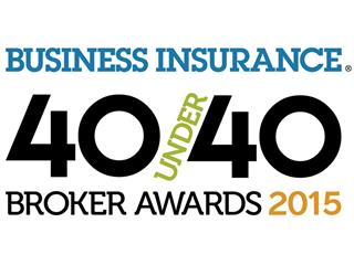 Business Insurance announces 40 Under 40 broker honorees for 2015