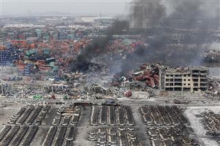 Allianz, Zurich receive damages claims from firms affected by Tianjin blasts