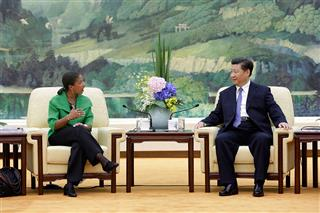 U.S. national security adviser Susan Rice tells China cyber espionage is more than an irritant, must stop