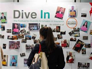 Dive in Festival diversity inclusion Lloyd's of London Hiscox Marsh Willis insurers London