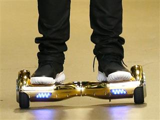 Popular hoverboard toy hot for all the wrong reasons