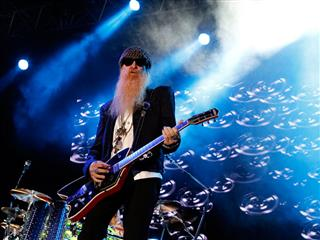 Bearded rocker and ZZ Top front man Billy Gibbons insures beard with Lloyd's of London