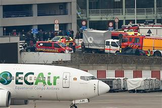 Brussels terrorist bombing attacks at Zaventem airport stir debate over security Islamic State London Paris Frankfurt