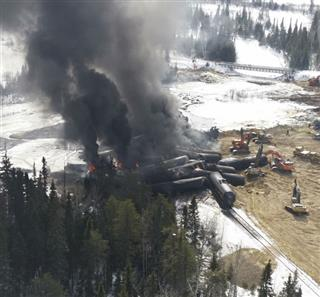 CN Rail struggled with track improvements after fiery derailments