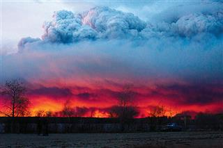 Wildfires oil sands Fort McMurray Alberta Canada insured losses property/casualty reinsurers adjusters