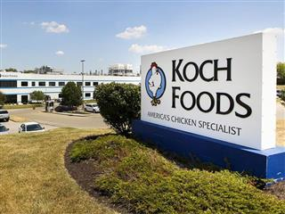 OSHA cites Chicago's Koch Foods Inc.chicken plant after worker loses part of finger with more than $52,000 in penalties
