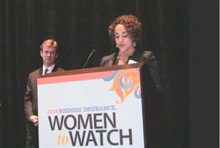 Business Insurance In Focus video: 2014 Women to Watch, Aranya Tomseth
