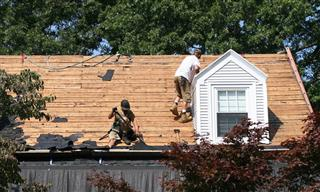 Auchly Roofing safety citations affirmed penalty reduced OSHRC