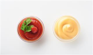 mayonnaise ketchup