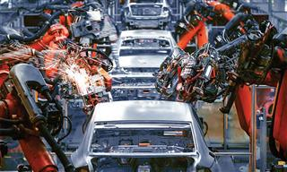 Robotic assembly on automobile production line