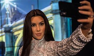 Wax figure of Kim Kardashian West