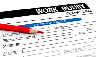 Workplace injury form