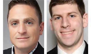 William Mauro, left, and David Geller