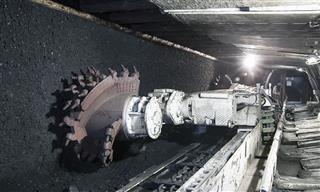 Coal mine excavator, Poland