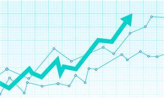 rising chart
