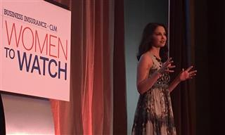 Business Insurance 2017 Women to Watch Ashley Judd keynote