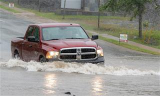 Hurricane Dorian flooding in New Brunswick, Canada