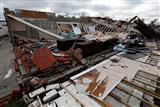 Damage in Panama City, Florida, from Hurricane Michael