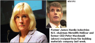 Ex-James Hardie execs face charges in Australia