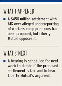 Insurers seeking end to AIG premium dispute