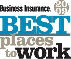 <i>Business Insurance</i>'s 2009 Best Places to Work in Insurance