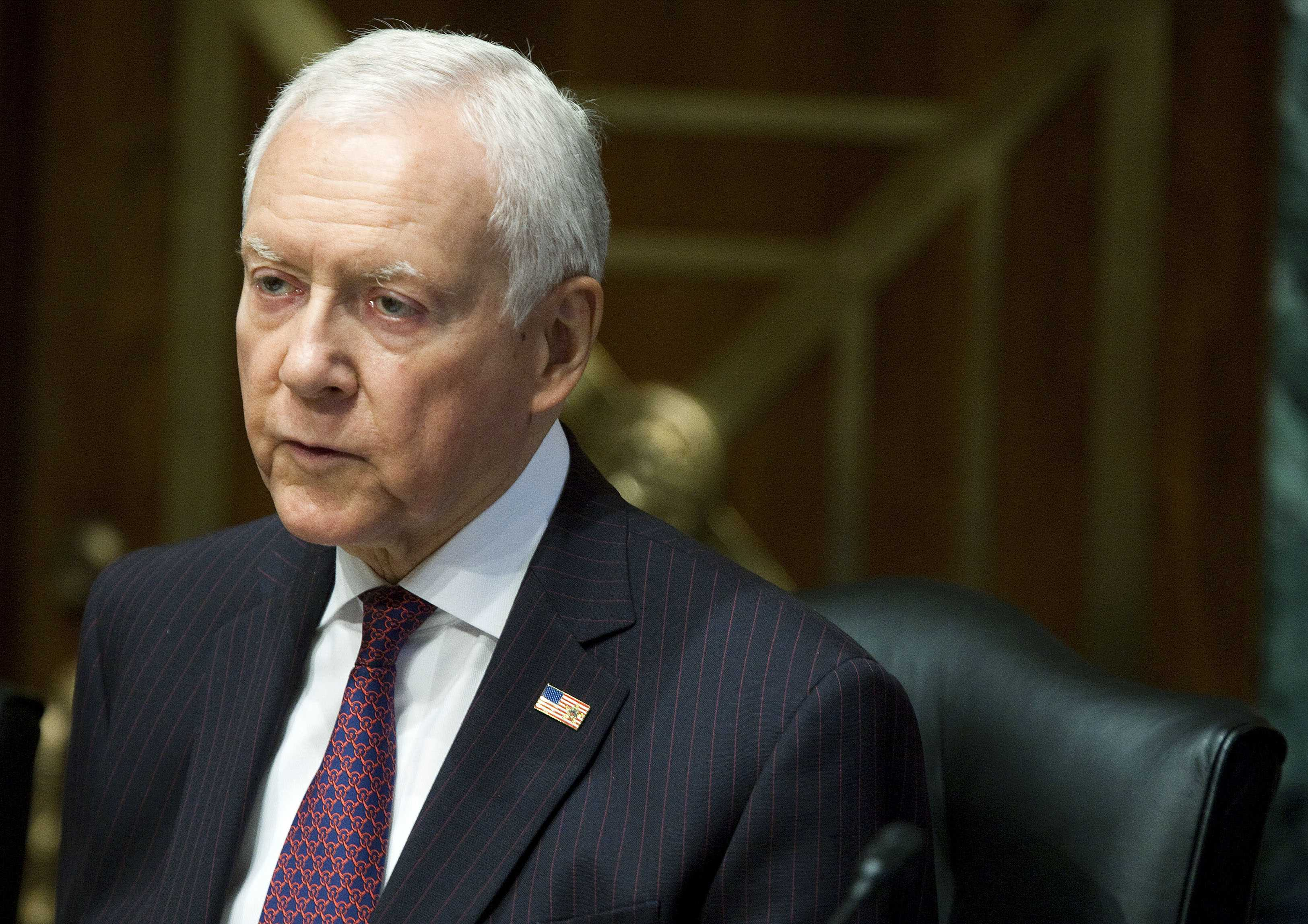 Sen. Hatch preparing public pension reform bill