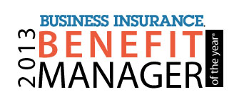 <i>Business Insurance</i>'s Benefit Manager of the Year&reg; for 2013 named
