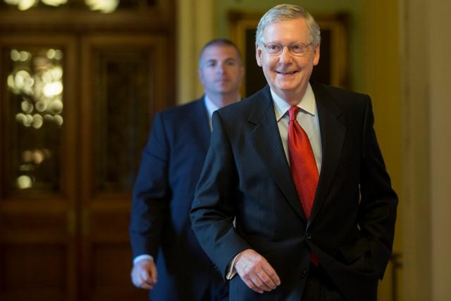 Top U.S. Senate Republican sees possible major health care legislation