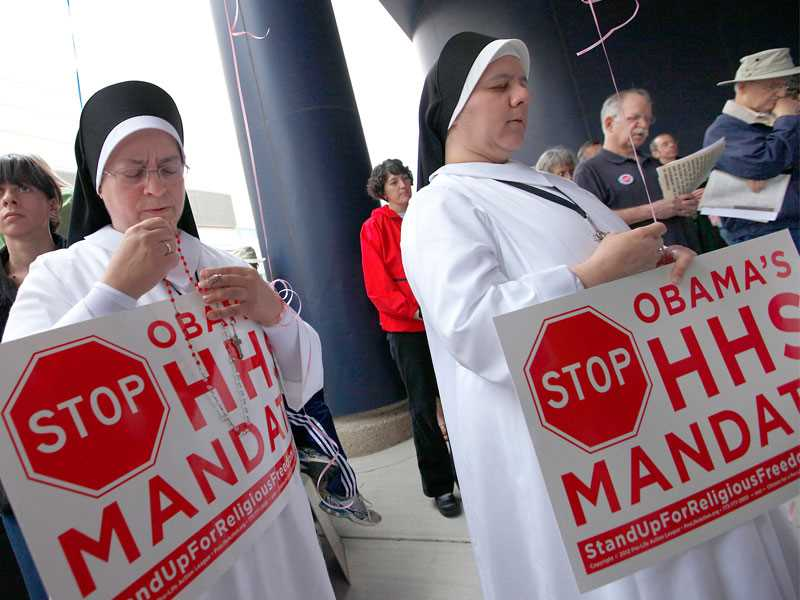 Justice changes stance, asks for contraceptive mandate ruling