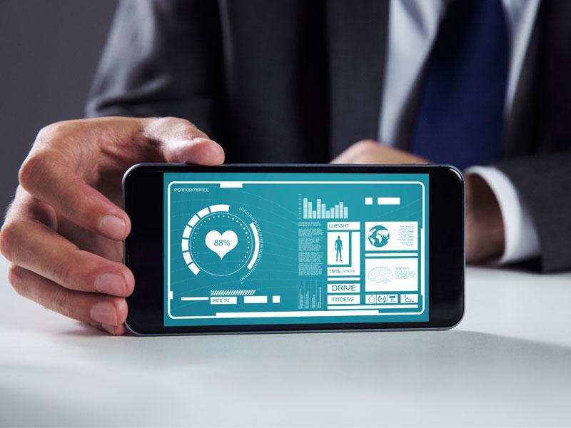 Wellness communication goes mobile