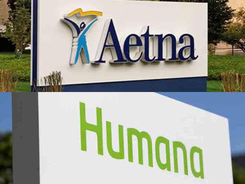California agency backs Aetna-Humana merger