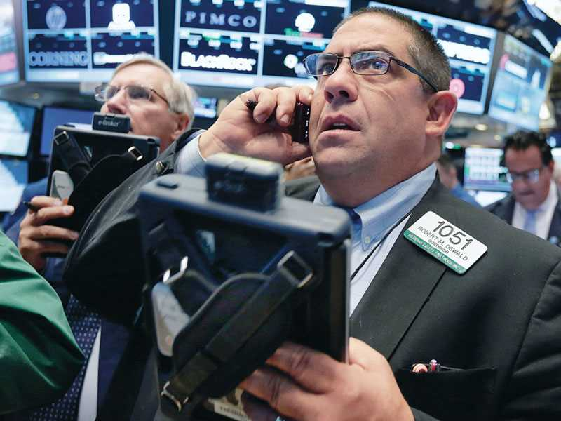 Pension funds ride out wild stock market swings