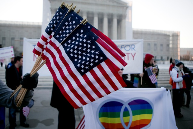 Supreme Court could give definitive ruling on states' rights to ban gay marriage