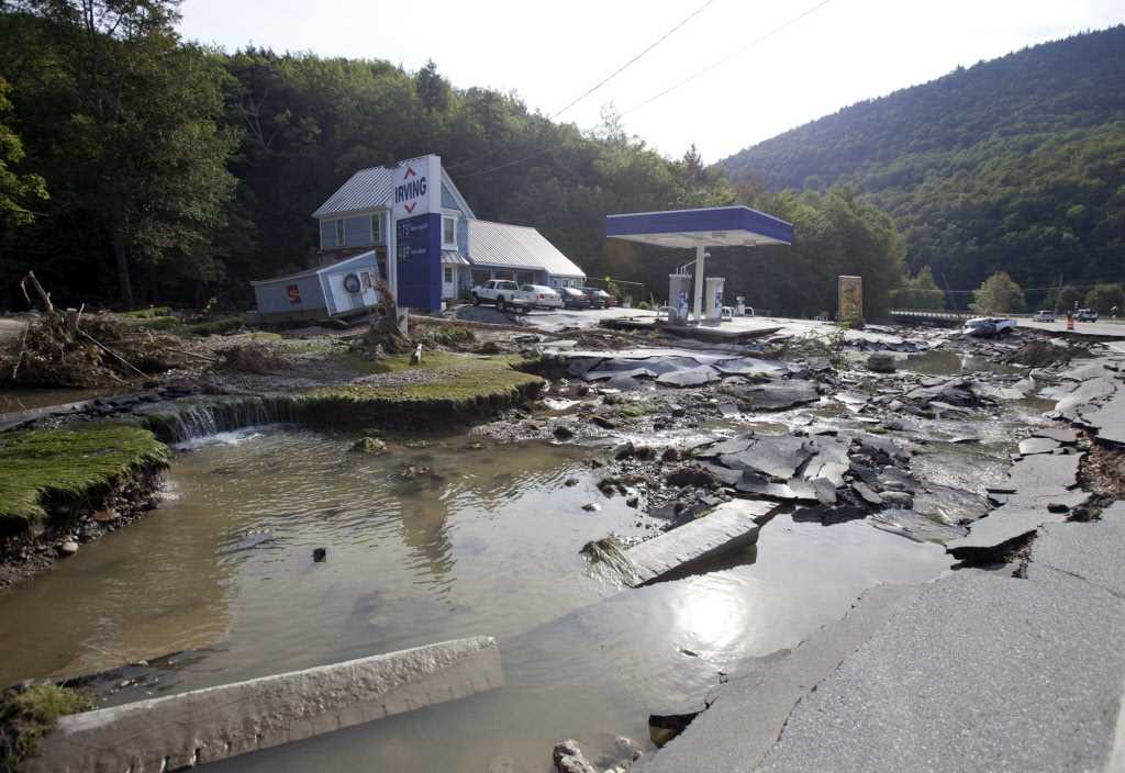 Irene wallops floundering flood insurance program