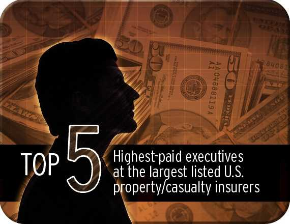 GALLERY: Highest-paid execs at largest listed U.S. P/C insurers