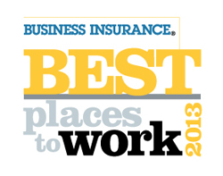 <i>Business Insurance</i> recognizes 2013 Best Places to Work in Insurance
