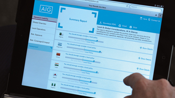 2014 Innovation Awards: AIG Multinational Program Design Tool