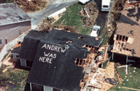 Hurricane Andrew impacted how industry models catastrophe risks