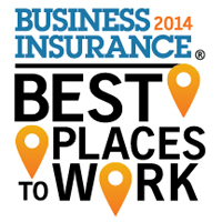 <em>Business Insurance</em> recognizes 2014 Best Places to Work in Insurance