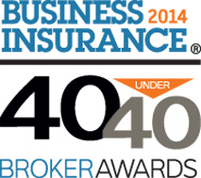 <i>Business Insurance</i> 40 Under 40 Broker Awards recognizes star performers