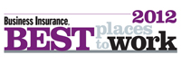 <i>Business Insurance</i> recognizes 65 companies in 2012 Best Places to Work
