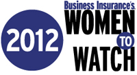 Business Insurance's 2012 Women to Watch honorees