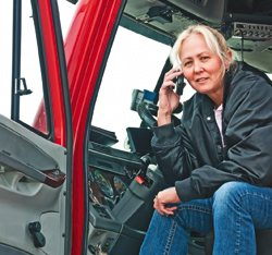 Cellphone ban for truckers inspires mixed opinions