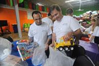 RIMS volunteers aid local children