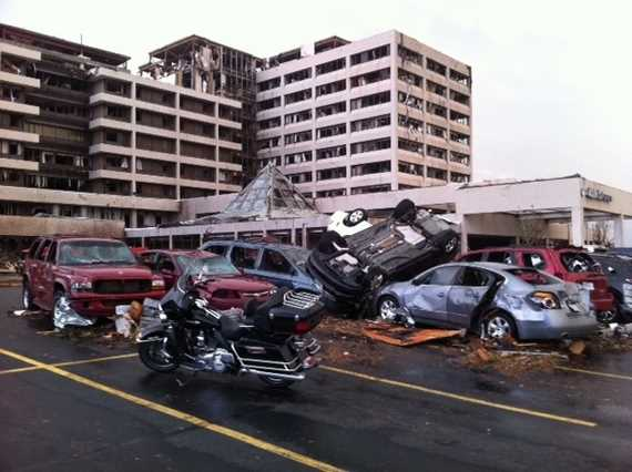 GALLERY: Tornado damage at Joplin, Mo.'s St. John's Medical Center