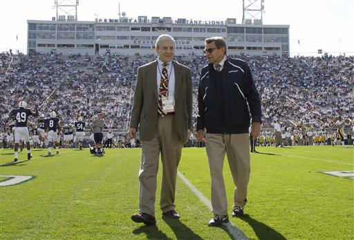 Former Penn State president charged with conspiracy related to Sandusky child abuse case