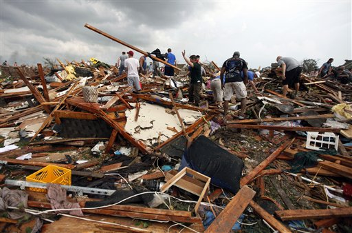 Large losses expected in Oklahoma tornado; market impact limited
