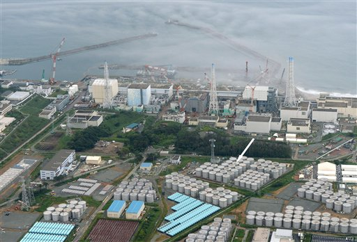 Wrecked Fukushima storage tank leaking highly radioactive water