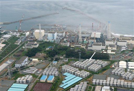 Wrecked Fukushima storage tank leaking highly radioactive water